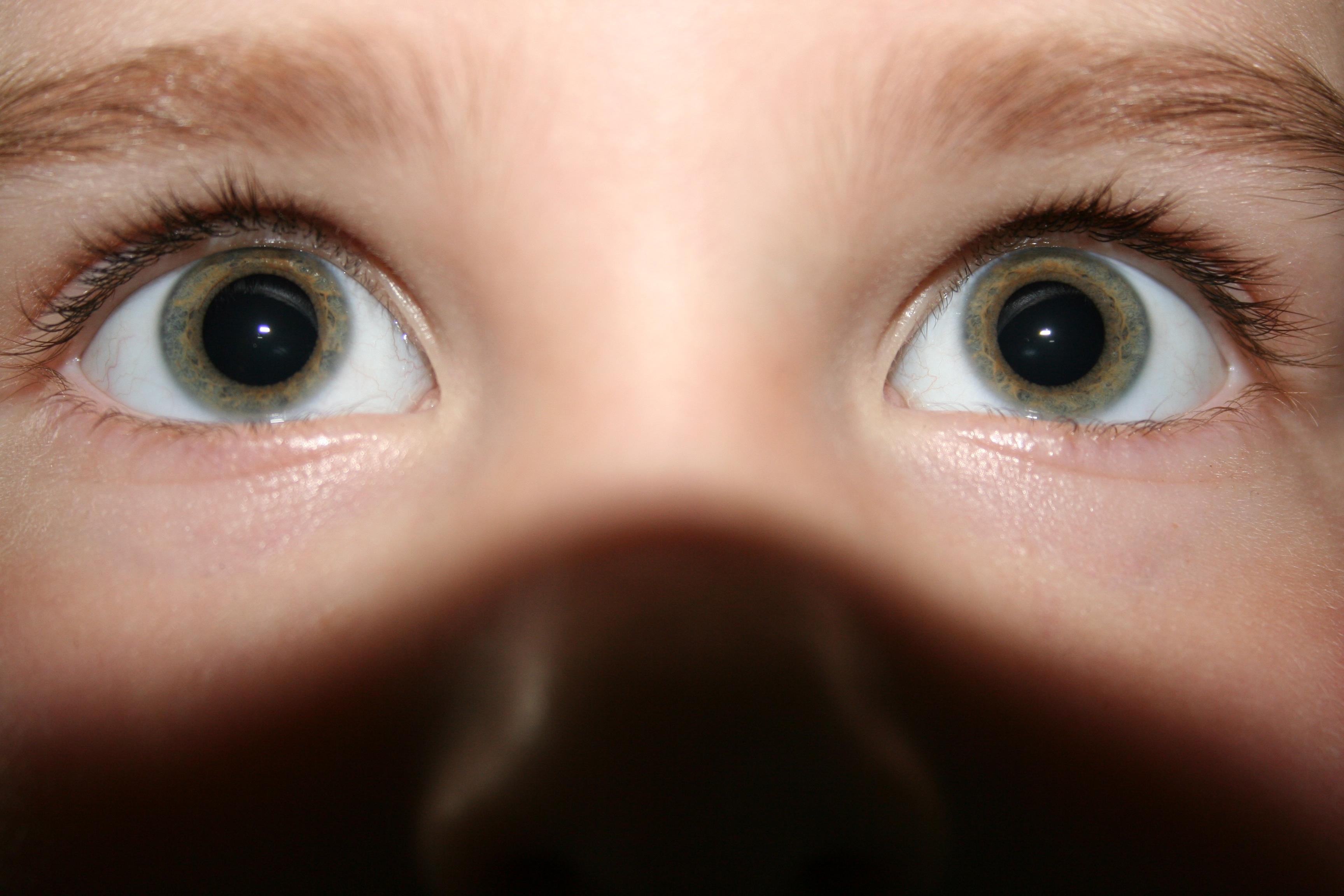 Zij ziet jou. Zie jij haar? Focus!