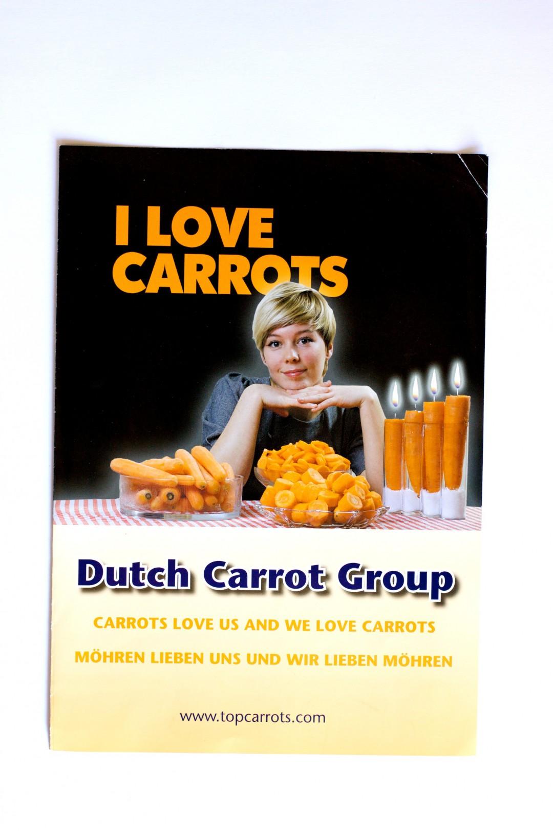Fotografie en lay out brochure Dutch Carrot